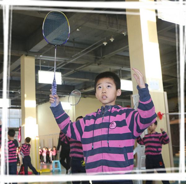 特色运动系列-羽毛球